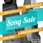 Song Sale Dunedin - February 2013 poster